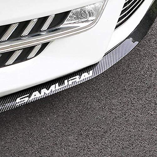 Front Lip ,HengJia Auto Parts 2.5m/8.2ft Car carbon fiber front lip,Front Bumper Lip ,Carbon Lip ,Side Skirt, front lip spoiler 100% waterproof protection(Carbon black)