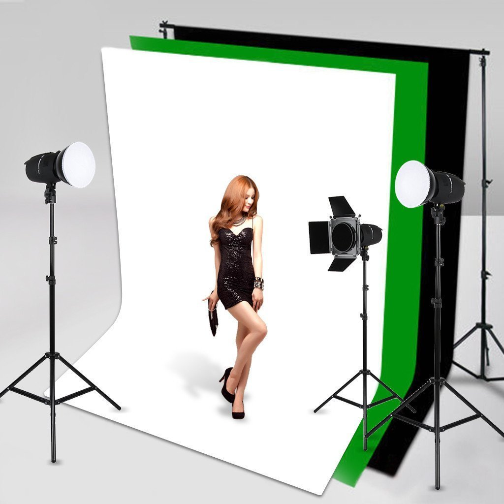 Fondo plegable de tela blanca para estudio fotográfico y vídeo (1.6 x 3m, el pack de soporte no incluido): Amazon.es: Electrónica