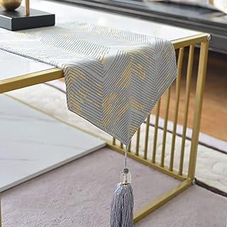 Accueil Linge De Table Chemin De Table Multi-Taille Tableau Jacquard Table basse Jacquard Runner Coton Brodé 3D Floral Mod...