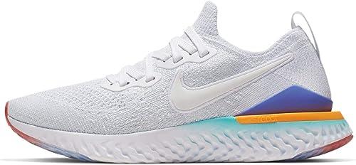 Nike W Epic React Flyknit 2, Chaussures d'Athlétisme d'Athlétisme Femme  en ligne au meilleur prix