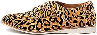 ROLLIE Derby Leopard Womens Shoes Flats Shoes