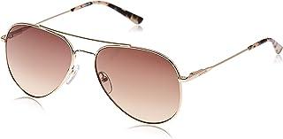 نظارات شمسية من كالفن كلاين باطار ذهبي