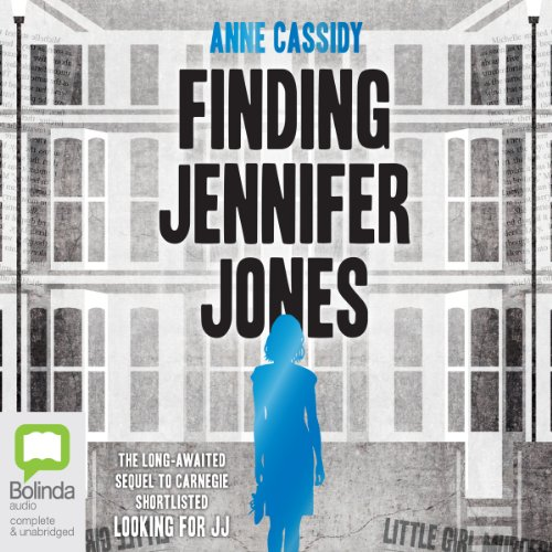 Finding Jennifer Jones audiobook cover art