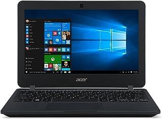 Acer TravelMate TMB117-M-C578 Laptop - Intel Celeron N3050, 11.6-Inch HD, 32GB, 2GB, Eng-KB, Windows 10 Pro, Black