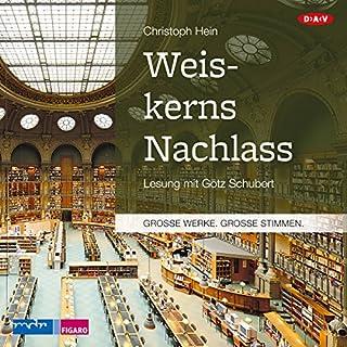 Weiskerns Nachlass Titelbild
