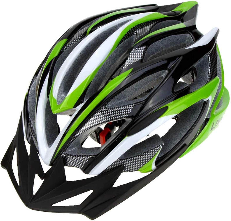 Bicycle Helmet Outdoor Sports Road Mountain Bike Ultralight Cycling Helmet Adjustable Skating Helmet with 25 Vents