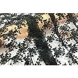 TINGCHAO Spitze Blumenbrutstoffgewebe Weiche und angenehm