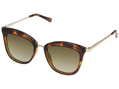 Le Specs Caliente (Toffee Tortoise/Khaki Gradient) Fashion Sunglasses