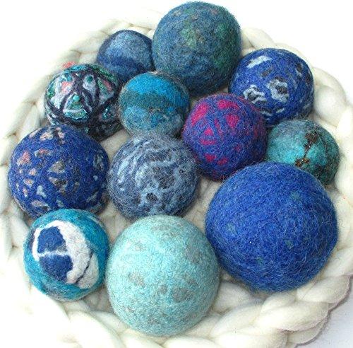 Oddballs: Sets of Felted Wool Balls, Lots of Uses!