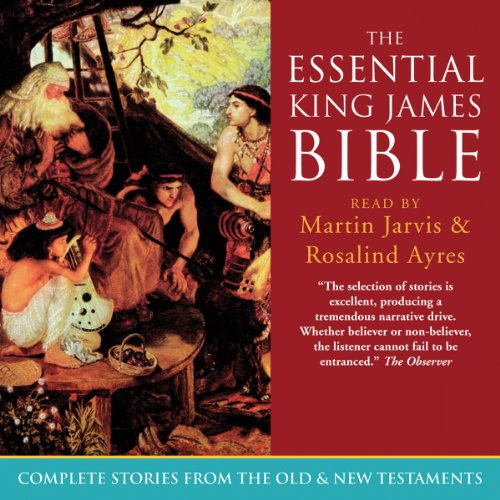 The Essential King James Bible audiobook cover art