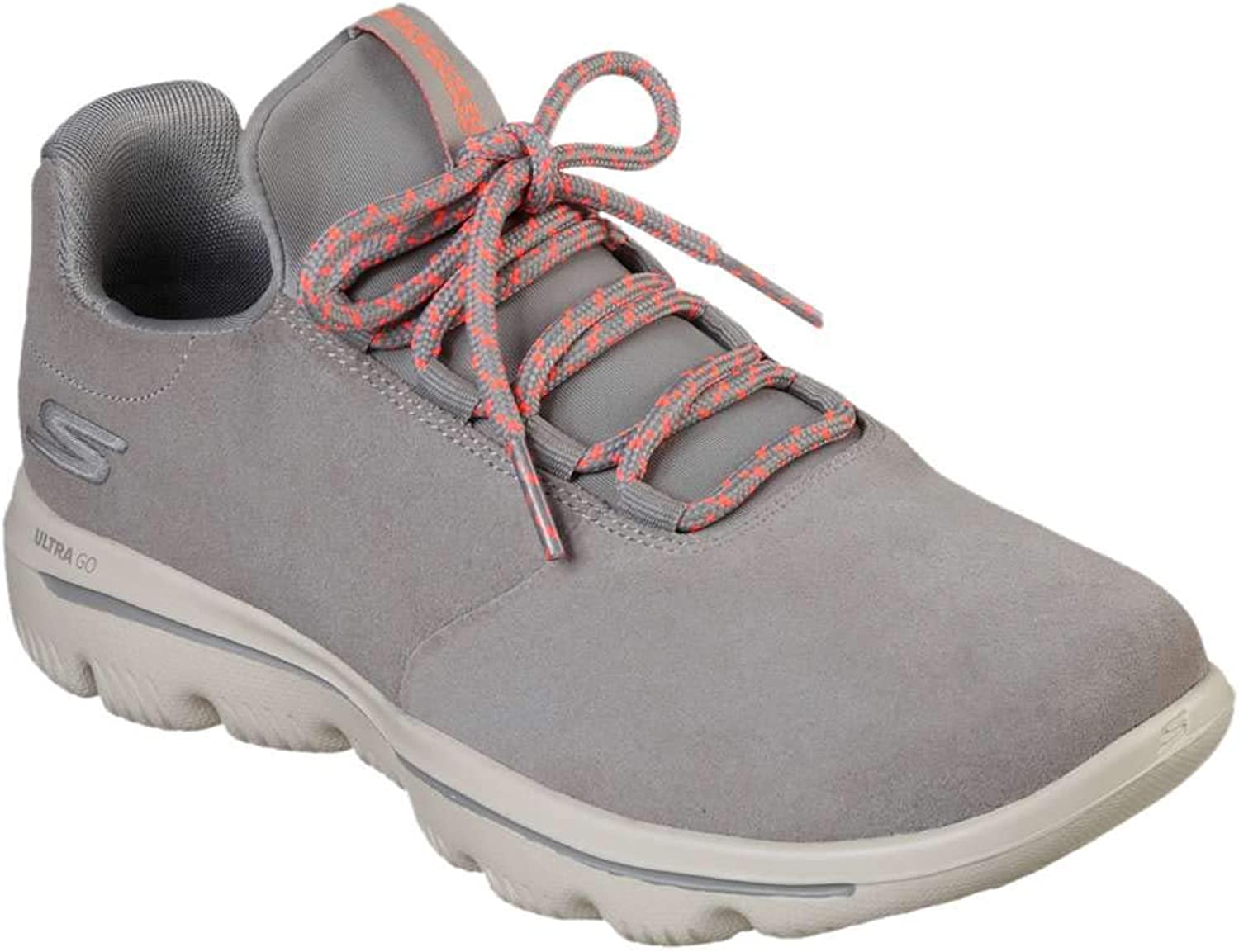 Skechers Womens Gowalk Evolution Ultra Granted Suede Athletic Walking shoes