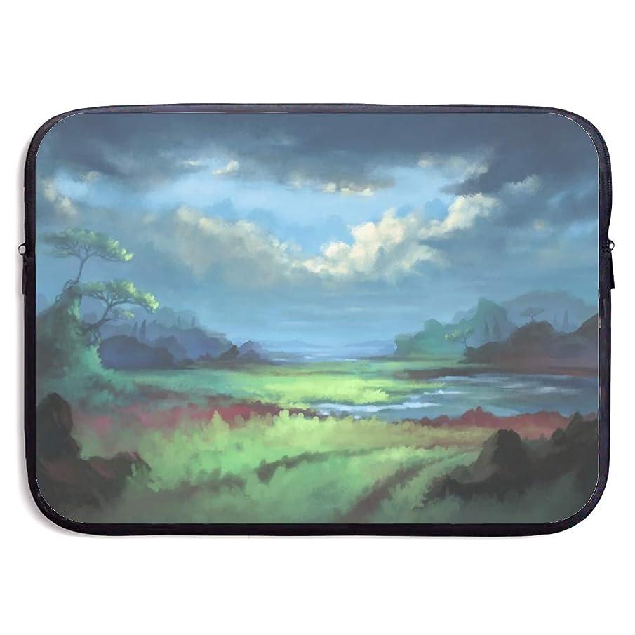 Computer Bag Laptop Case Slim Sleeve Landscape Waterproof 13-15In IPad Macbook Surface Book