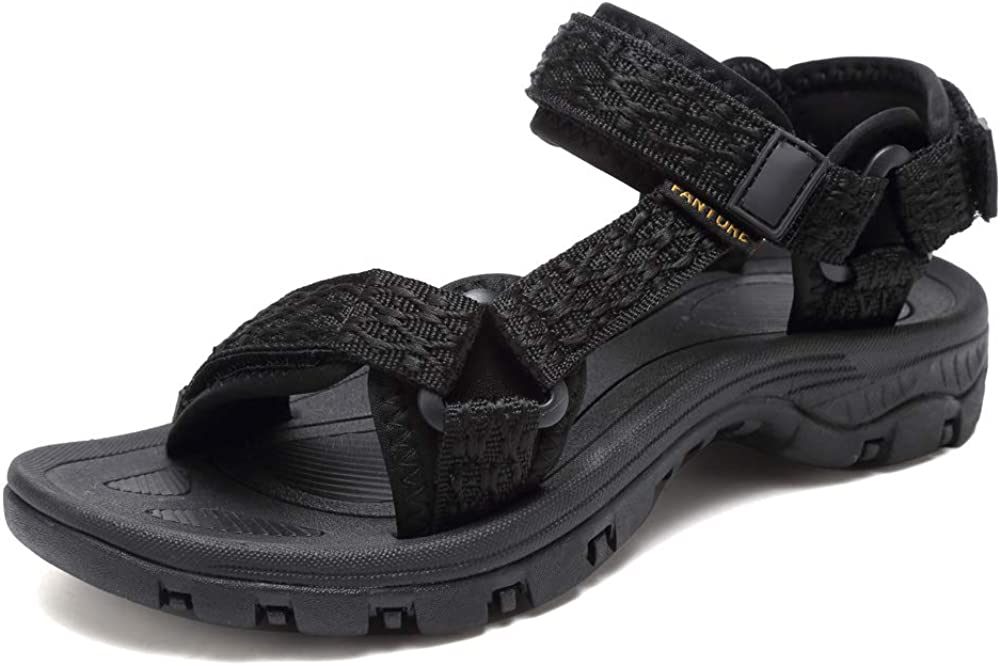 Sport Sandals for Women, Open Toe Strap Sandal Anti-skidding Outdoor Water Sandals Comfortable Athletic Sandals for Beach