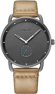 Men's Wrist Watches Baogela Ultra Thin Minimalist Dress Watch Casual Simple Genuine Leather Waterproof Watch for Male