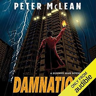 Damnation audiobook cover art