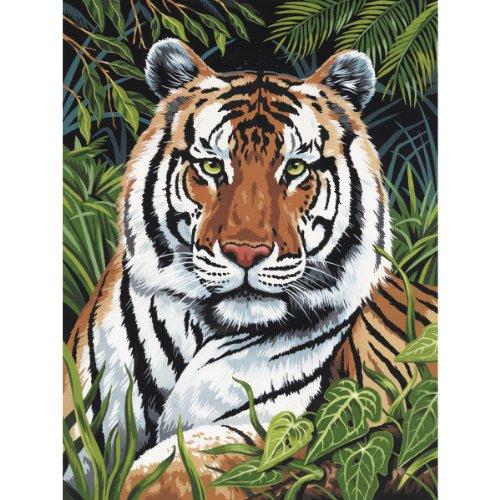 Royal & Langnickel Tigre au design se cacher Kit peinture par numéros