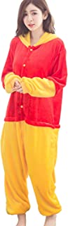 Unisex Adult Onesies Animal Cosplay Costume Onesie Winnie The Pooh Pajamas