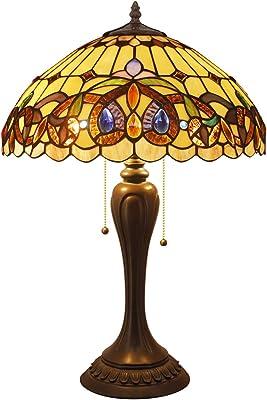 Amazon.com: Amora iluminación am204tl16 estilo Tiffany ...