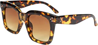 Vintage Women Butterfly Sunglasses Designer Luxury Square Gradient Sun Glasses Shades B2486