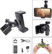 Phone Clip, Pocket Handheld Extension Bracket & Phone Clip Holder with Grip Flexible Bracket Mount Clamp Compatible