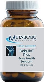 Metabolic Maintenance Rebuild Plus - Bone Health Support Supplement with Calcium, Extra Vitamin D, Vitamin K, Zinc, Magnes...