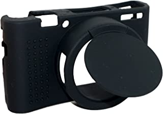 ソニーサイバーショット Sony DSC-RX100 III/RX100M3カメラブラックのための取り外し可能なレンズカバー保護シリコーンゲルゴムに柔らかいカメラケースカバーバッグ