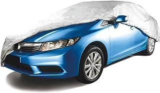 Tramontina 43780001, Capa para Carro P, Impermeável, Cinta para Envolver Veiculo, Carros Ate 4 M, Cinza