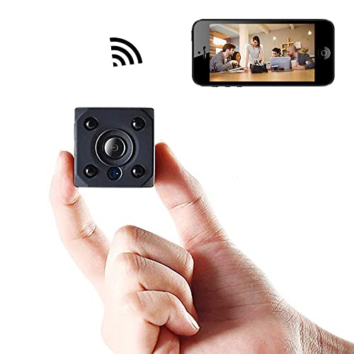Mini Spy Camera Wireless Hidden, Bysameyee WiFi HD 720P Nanny Cam DVR with Motion Detection Night Vision, Small Gadget Remote Live Video Recorder for Home/Office Security
