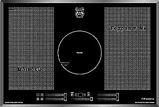 Kaiser KCT 777 FI La Perle Luxus Induktionskochfeld 77cm / Free Zone Induktions Kochfeld Autark/4 Zonen Kreiszone/Power Booster/Glaskeramikkochfeld/Induktion/Einbaukochfeld/ Elektro Kochfeld/Facette