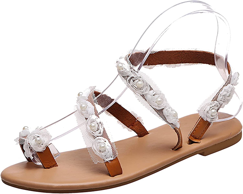 Adeliber Fashion New Big Size String Beads Flip Flops Women'S Ca