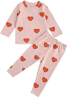 Baby Kids Girls Boys Soft Comfy Sleepwear Pajamas Long...