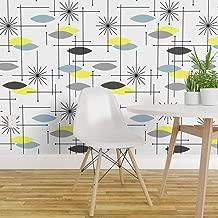 blue starburst wallpaper