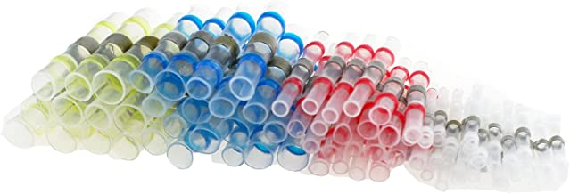 70 PCS Solder Seal Wire Connectors - Heat Shrink Butt Connectors - Electrical Wire Terminals - Marine Insulated Butt Splices