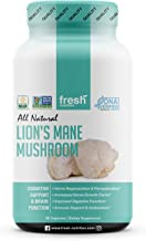 Lions Mane Mushroom Capsules Strongest 1500mg Per Serving - Organic Powder Capsules Vegan Friendly Supplement - Brain, Nerve & Immune System Function Benefits - Powerful Superfood