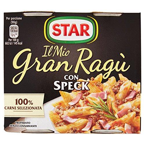 Star Il Mio Gran Ragù con Speck, 2 x 180g