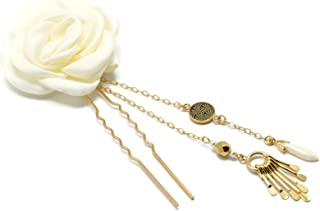GINKGO vanga nuziale accessori per capelli sposa avorio accessorio matrimonio parrucchiere clip di capelli giapponesi perl...