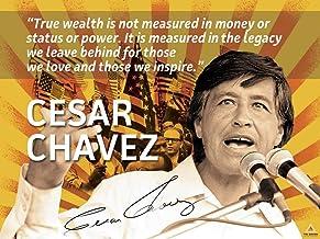 ملصق 777 Tri-Seven Entertainment سيزار شافيز اقتباس فن التربية لعمال نشطاء العمل (24x18)