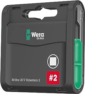 Wera 05057790001 Bit-Box 20 V Robertson 2 (Pack of 20)