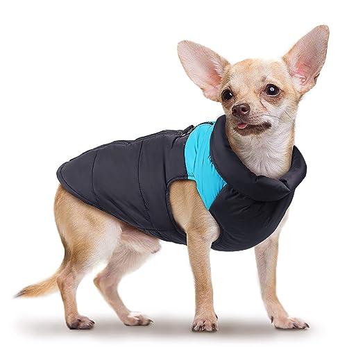 Wooce Ropa de Perro a Prueba de Agua y cálido Chaleco de algodón para Mascotas Chaqueta