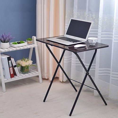 Table pliante réglable Table Petite Table Lit avec Bureau d'ordinateur Portable 4 Couleurs Disponibles Taille en Option Peut être tourné (Couleur   B)