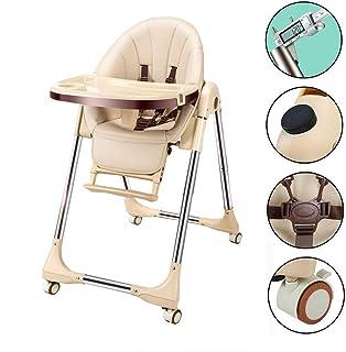Vinteky プレミアムベビーチェア 昇降機能付き 赤ちゃん用 多機能 ハイチェア 安全ベルト 脱出防止 (6ヶ月から6才)