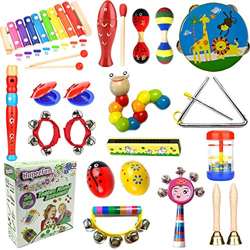 HapeeFun 26pcs Toddler Musical I...
