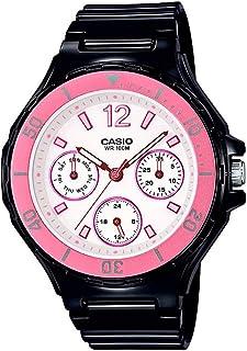 Casio Womens Quartz Watch, Analog Display and Resin Strap LRW-250H-1A3VDF