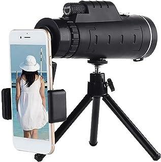 Monocular Telescope For Smartphone 40x60 Bak4 Prism Handheld Starscope Telescope For Adults Hd Waterproof Optical Glass Wi...