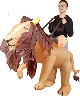 MaxTide Ostrich Inflatable Suit Animation Cartoon Show Clothing Props Halloween Club Costume Party Activities(2,One Size)