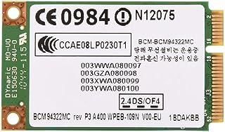 Topiky Mini Tarjeta de Red inalámbrica PCI-E WiFi, Profesional Premium 2.4G + 5G Tarjeta de Banda Dual con 300 Mbps Tarjeta de transmisión WiFi para HP/Mac/DELL/Acer/Hedy/TSINGHUA TONGFANG