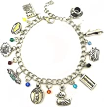 Blingsoul TV Show Charm Bracelet - Friends Merchandise TV Show Costume Jewelry Gifts for Women