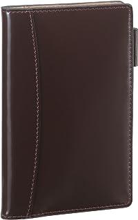 レイメイ藤井 ダヴィンチグランデ コードバン スリムシステム手帳 ポケットサイズ ブラウン JDP1601C