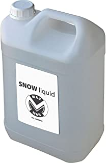 MAC MAH L20NEIGE 雪花机液体5升瓶白色