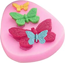 Butterfly Mold Silicone Baking Accessories 3D DIY Sugar Craft Chocolate Cutter Mould Fondant Cake Decorating Tool 3 Colors...
